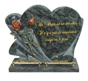 Plaques funéraires